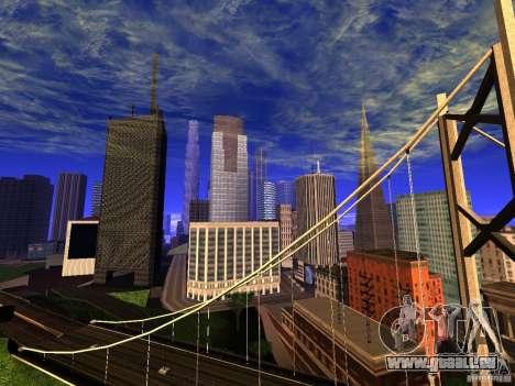 New San Fierro V1.4 pour GTA San Andreas deuxième écran