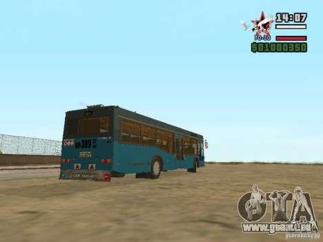 MAZ-103 s pour GTA San Andreas vue de droite