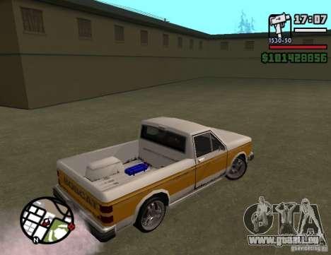 Tun complects pour GTA San Andreas deuxième écran