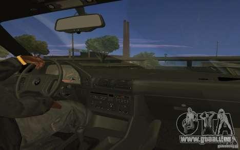 BMW 525 (E34) V.2 pour GTA San Andreas laissé vue
