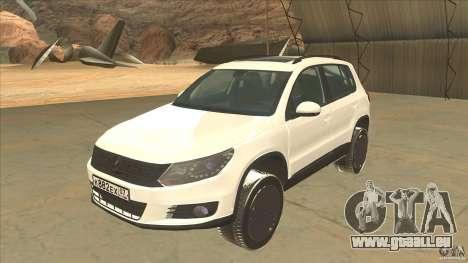 Volkswagen Tiguan 2012 v2.0 pour GTA San Andreas