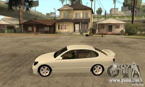 Lexus GS300 2003 für GTA San Andreas linke Ansicht