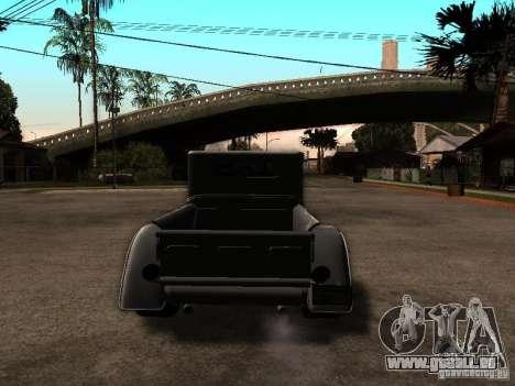 Ford Farmtruck für GTA San Andreas zurück linke Ansicht