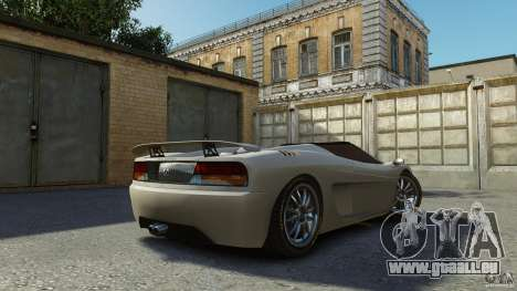 Turismo Spider für GTA 4 linke Ansicht