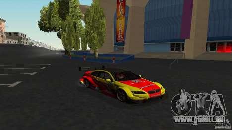 BMW E92 M3 für GTA San Andreas Innenansicht