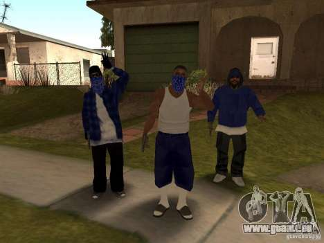 Crips Gang pour GTA San Andreas deuxième écran