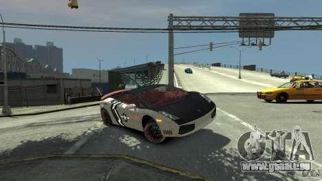 Lamborghini Gallardo LP560-4 [EPM] für GTA 4 Innen