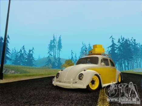 Volkswagen Beetle Edit pour GTA San Andreas