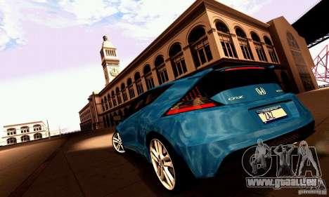 Honda CR-Z 2010 V2.0 für GTA San Andreas Seitenansicht