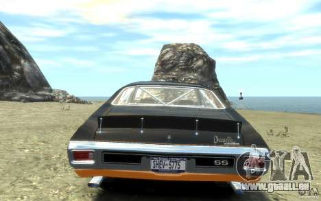 Chevrolet Chevelle SS 1970 pour GTA 4 est un droit