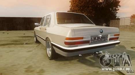BMW 5-Series E28 pour GTA 4 Vue arrière de la gauche