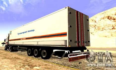 FEMA-Trailer-Russland für GTA San Andreas Innenansicht
