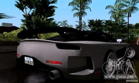 Mazda RX-7 für GTA San Andreas Unteransicht
