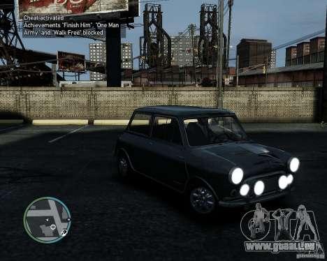 Austin Mini Cooper S pour GTA 4