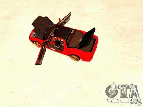 Acura NSX Stance Works für GTA San Andreas rechten Ansicht
