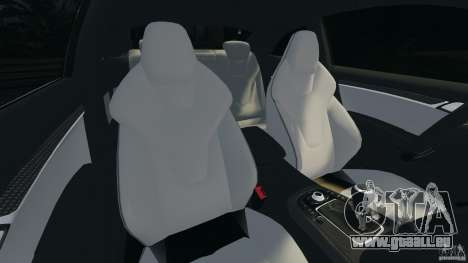 Audi S5 pour GTA 4 est une vue de l'intérieur