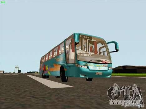 Mercedes-Benz Vissta Buss LO für GTA San Andreas linke Ansicht