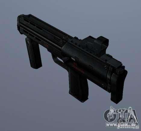 MP7 pour GTA San Andreas deuxième écran