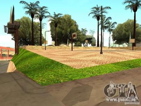 Le nouveau terrain de basket à Los Santos pour GTA San Andreas