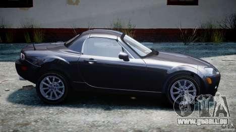 Mazda MX-5 pour GTA 4 est une gauche