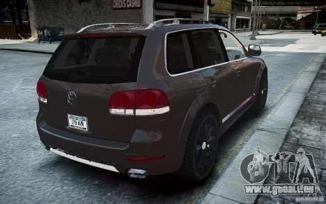 Volkswagen Touareg R50 pour GTA 4 Vue arrière de la gauche