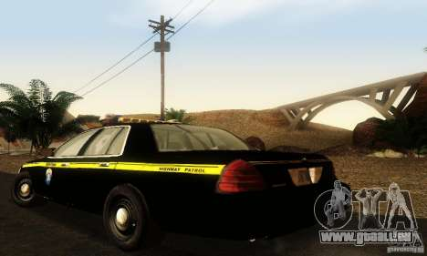 Ford Crown Victoria Montana Police für GTA San Andreas linke Ansicht