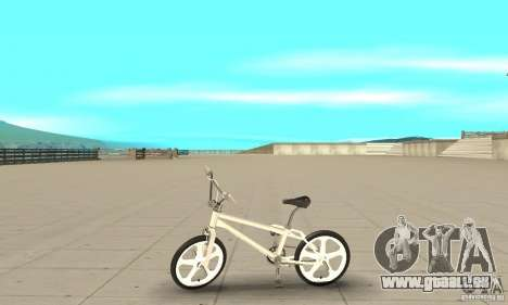 Skyway BMX für GTA San Andreas linke Ansicht