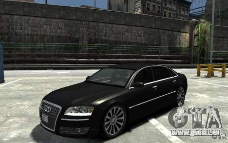 Audi A8L W12 Quattro pour GTA 4