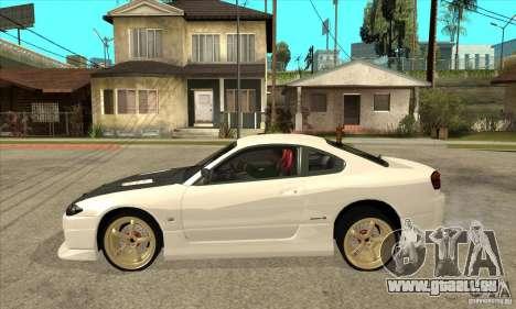 Nissan Silvia pour GTA San Andreas laissé vue