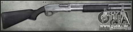 M870 2 Tone für GTA San Andreas