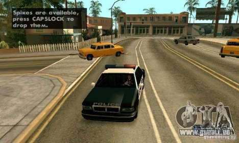 Die Spikes auf der Straße für GTA San Andreas fünften Screenshot