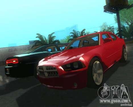 Dodge Charger 2011 pour GTA San Andreas laissé vue