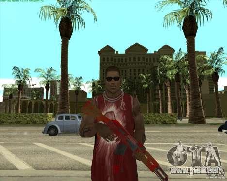 Blood Weapons Pack pour GTA San Andreas huitième écran