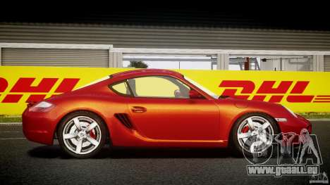 Porsche Cayman S v2 pour GTA 4 Vue arrière
