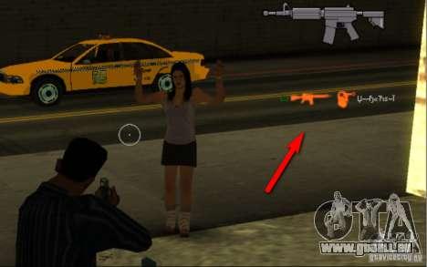 KILL LOG pour GTA San Andreas