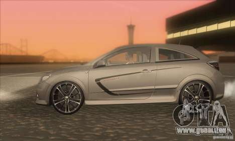 Opel Astra GTC DIM v1.0 pour GTA San Andreas laissé vue