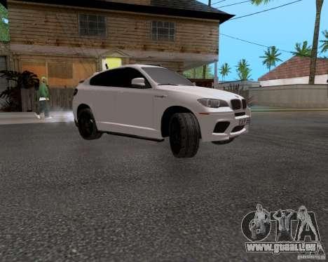 BMW X6 für GTA San Andreas Rückansicht