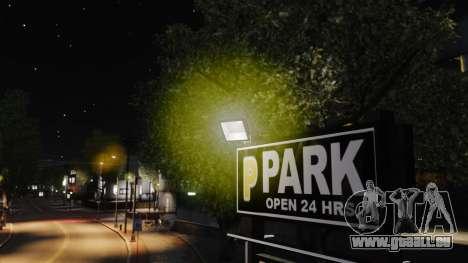 Gelbes licht lights für GTA 4 fünften Screenshot