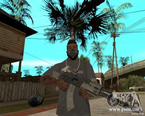 AK47 avec le viseur optique standard pour GTA San Andreas