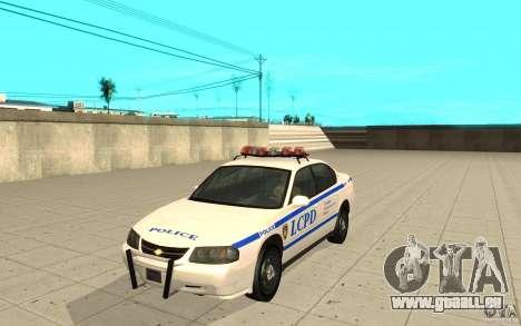 Patrouille de la police de GTA 4 pour GTA San Andreas