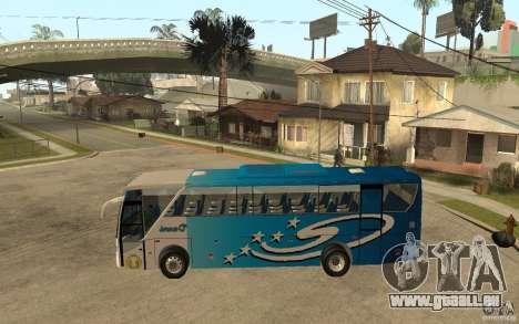Hino New Travego V.Damri für GTA San Andreas linke Ansicht