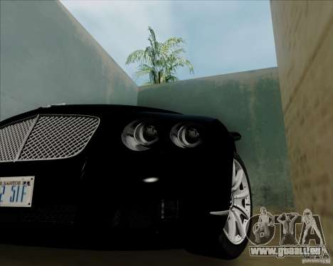 Bentley Continental GT V1.0 für GTA San Andreas rechten Ansicht