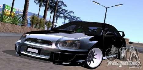 Subaru Impresa WRX light tuning pour GTA San Andreas