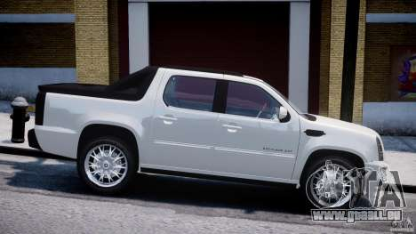 Cadillac Escalade Ext pour GTA 4 est une gauche