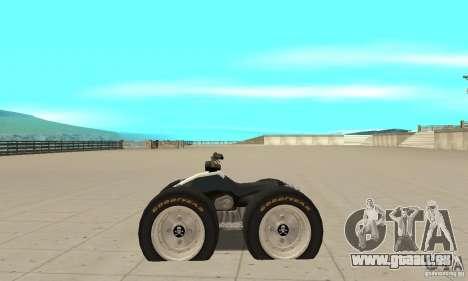 QUAD BIKE Custom Version 1 pour GTA San Andreas laissé vue