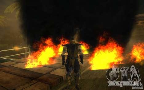 Scorpion v2.2 MK 9 für GTA San Andreas fünften Screenshot