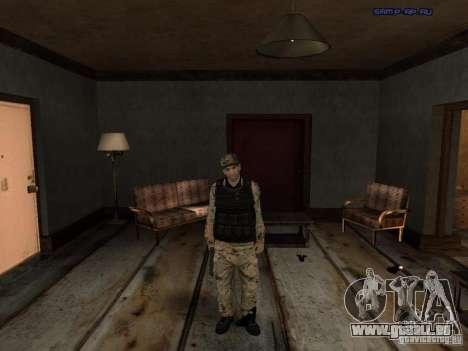 Army Soldier Skin für GTA San Andreas dritten Screenshot