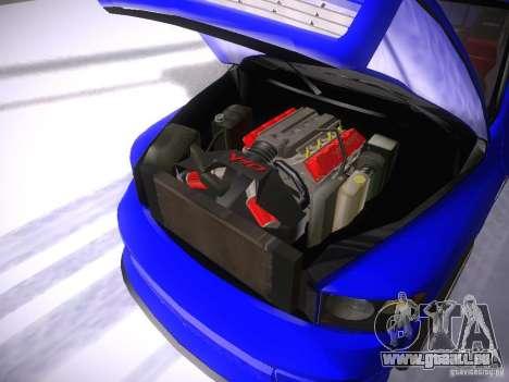 Dodge Ram SRT-10 pour GTA San Andreas vue intérieure