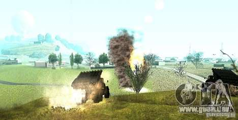 ZIL-131 in Grad für GTA San Andreas Rückansicht