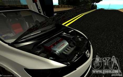 Honda Civic Type R für GTA San Andreas Unteransicht